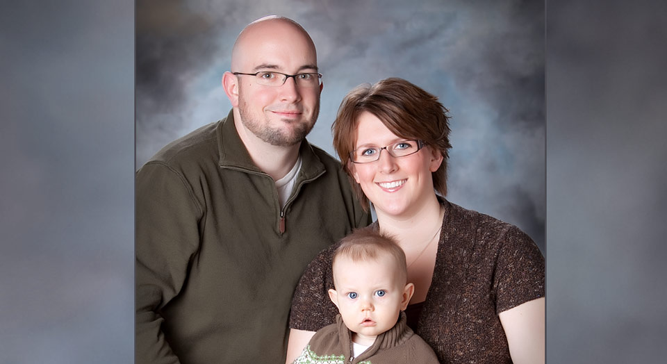Traditional family photography in a professional studio - Grandville, MI